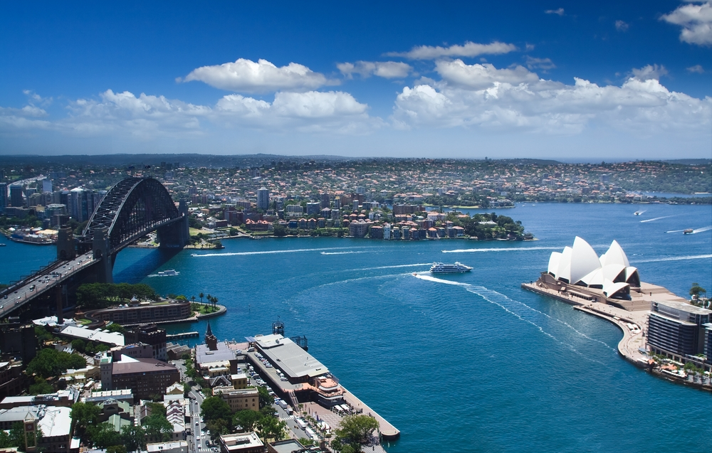 Twin tunnels will line Sydney Harbour.