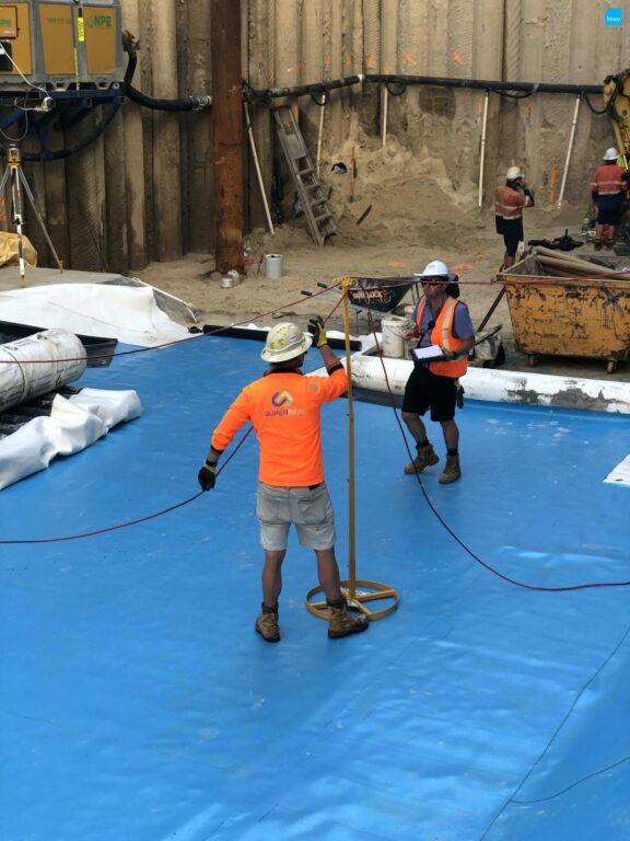 Basement Waterproofing - BluSeal PVC