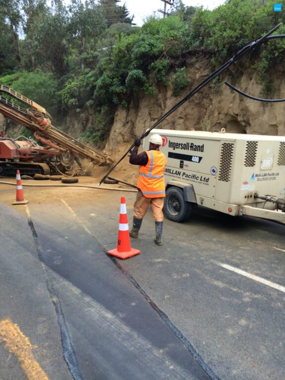 Slope Stabilisation Soil Nailing in Christchurch, NZ