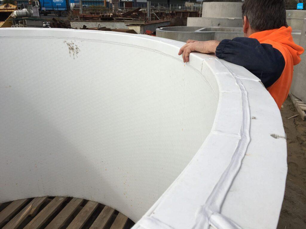 Lining Precast Manholes with BluSeal AKS