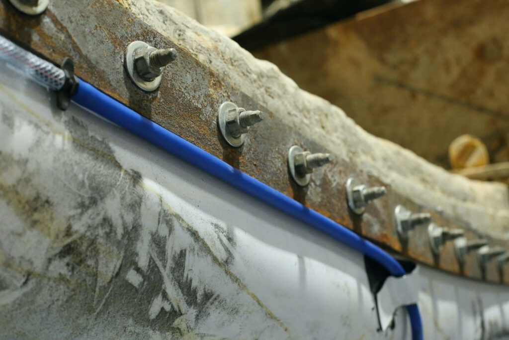 BluSeal Injection Hose Used In TBM Cross Passage Waterproofing