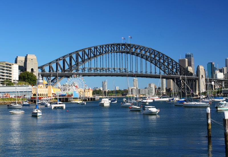 Two tunnels will be built under Sydney Harbour.