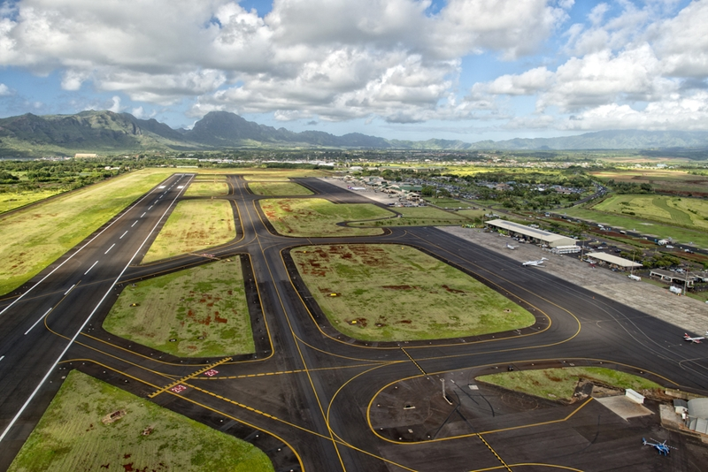 Airport runways can deteriorate over time.